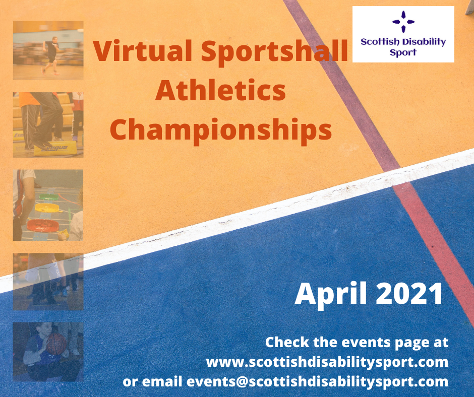 Virtual Sportshall Athletics Championships