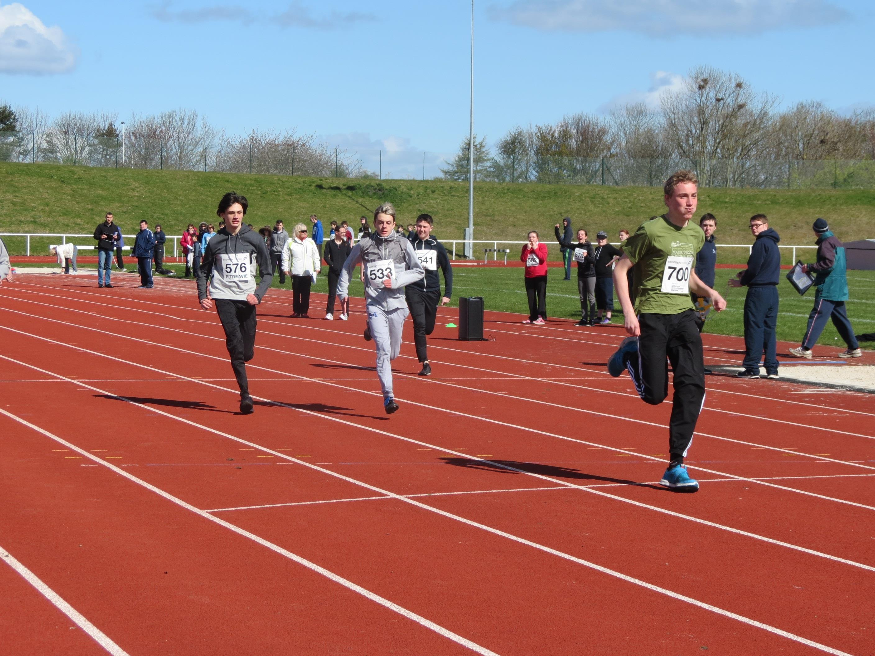 Track and Field Competition April 2016