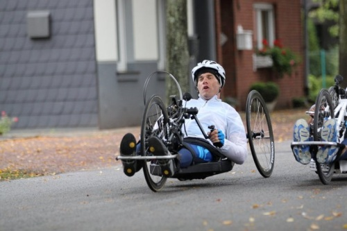 Try Handcycling