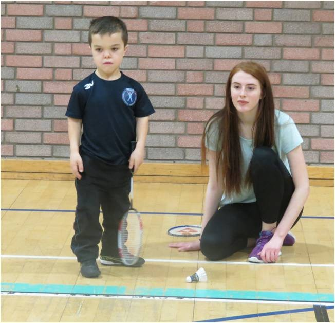 Lothian Disability Badminton Club Host Riding of the Marches Festival