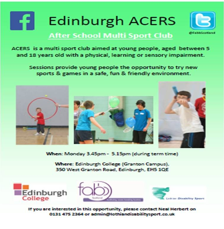 ACERS After School Multi Sport Club