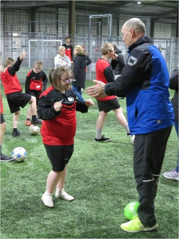 Lothian Disability Schools Footy Event Hits the Back of the Net