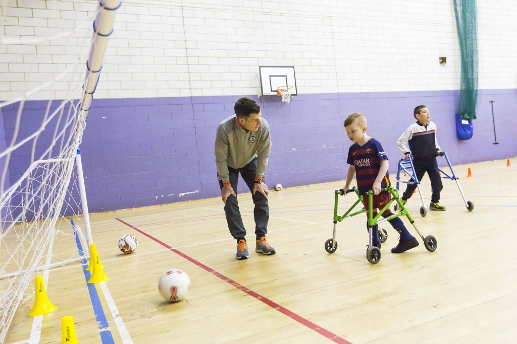 Frame football session to kick off in West Lothian