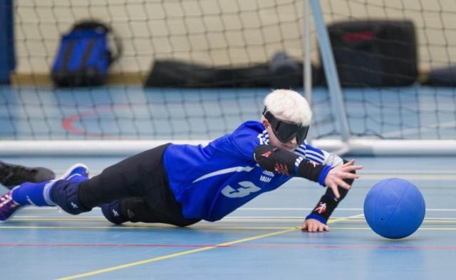 Goalball Session - Edinburgh College - 7th March 2015