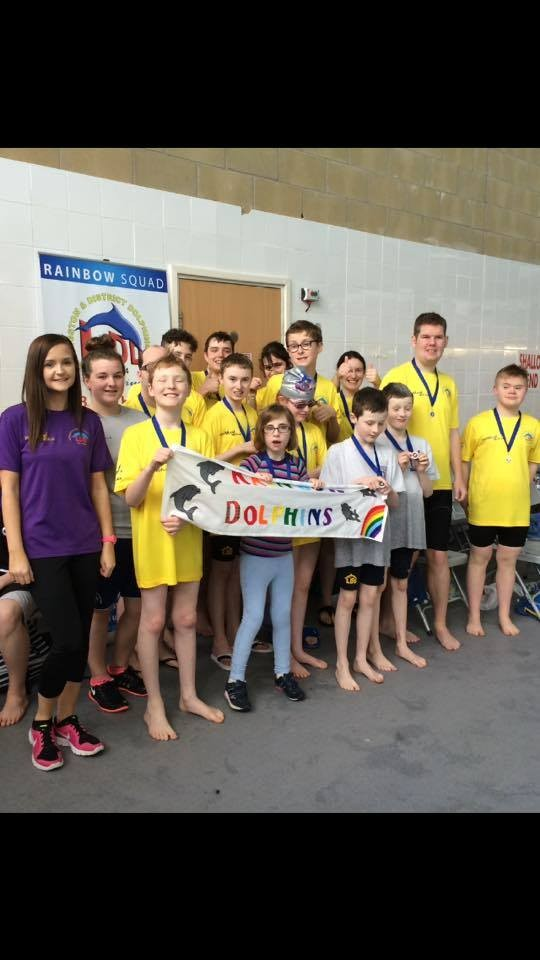 Livingston & District Dolphins Disability Swimming Gala 2015