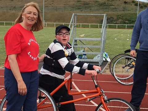 Lothian Leopards Disability Athletics Club - Race Running 'Launch Day'