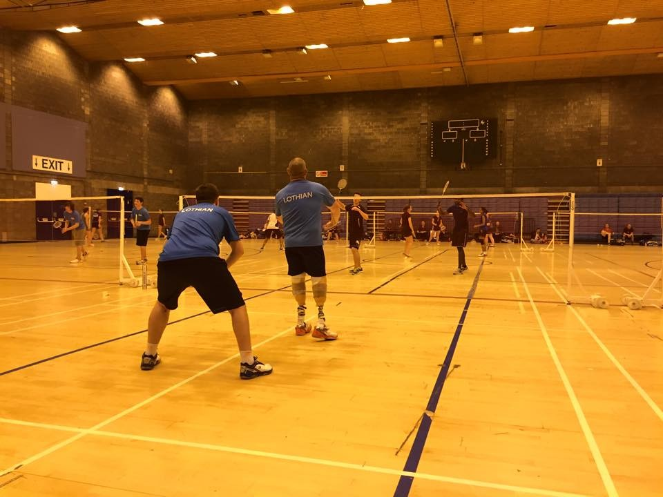 Lothian Disability Badminton Club Making History!