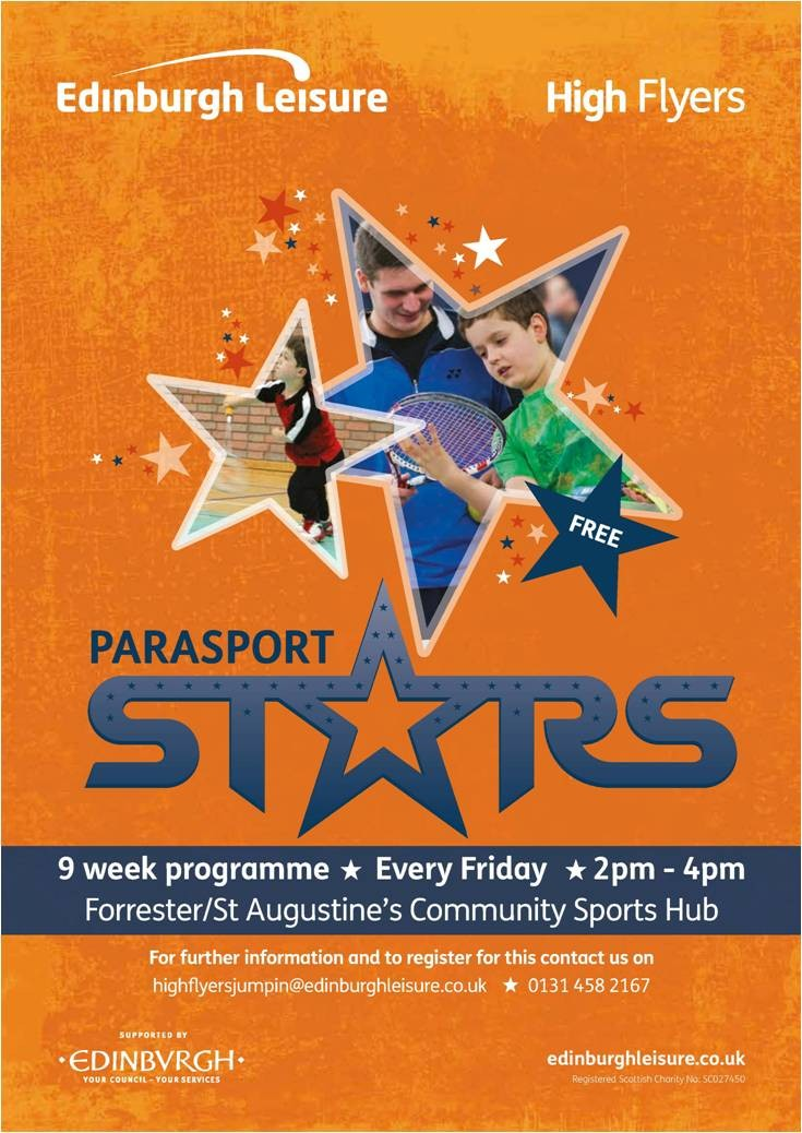 ParaSport Stars - Sports session for young people with a physical disability