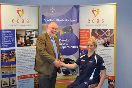 Edinburgh wheelchair basketball player heads for Team GB
