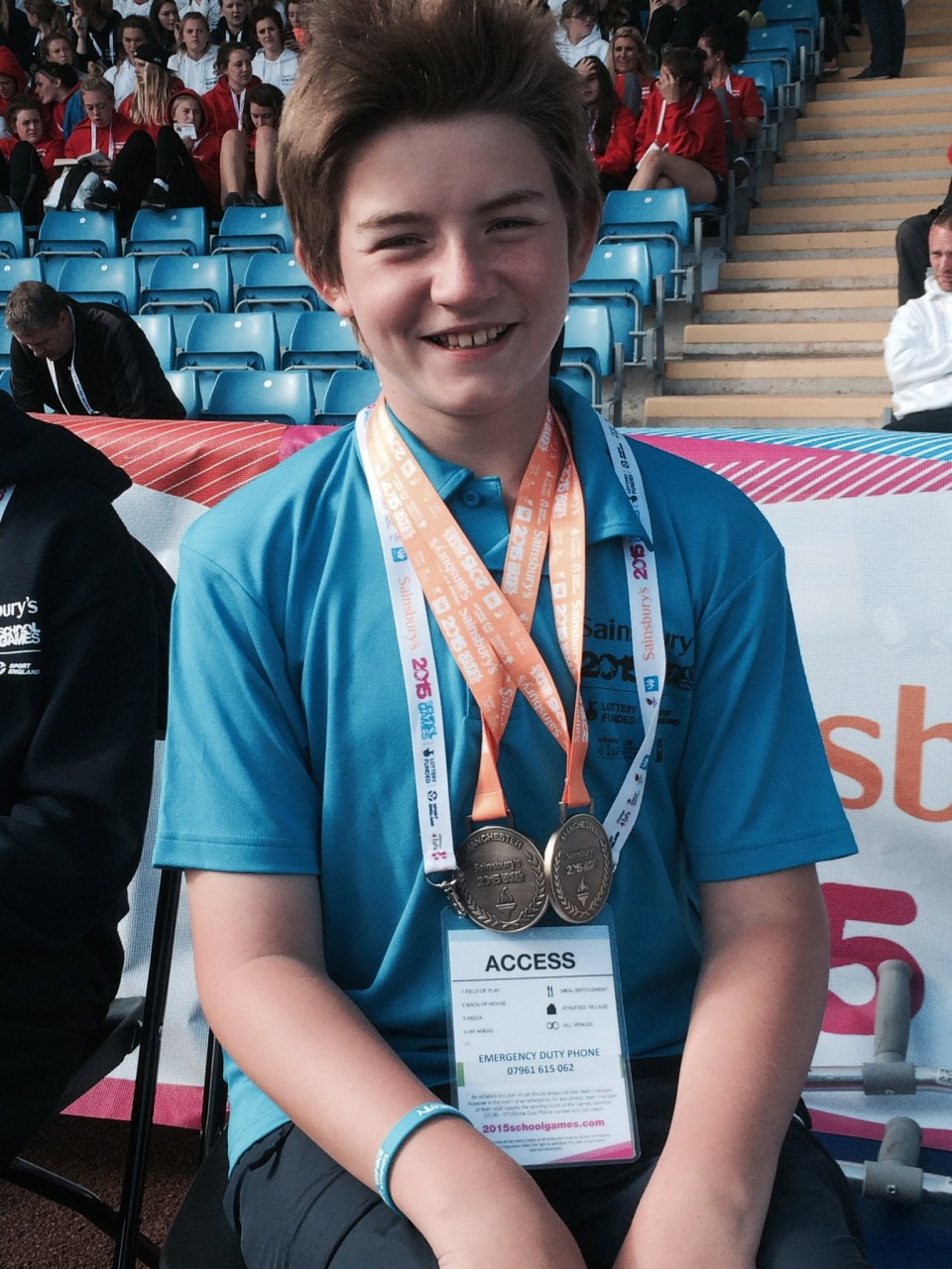 Lothian Athletes Travel to Manchester for the Sainsbury's School Games