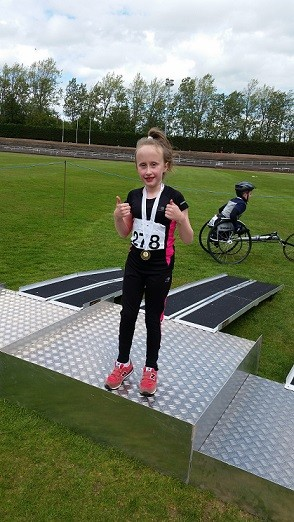Scottish Disability Sport Junior Track & Field Athletics