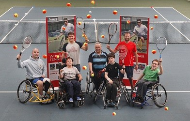 Wheelchair Tennis Camp - Craiglockhart