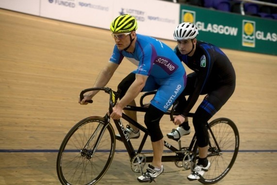Track Cycling for Individuals with a Visual Impairment