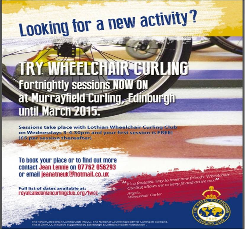 Lothian Wheelchair Curling Sessions